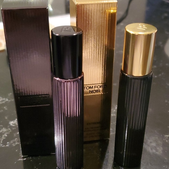 Tom Ford Noir extreme and anthracite